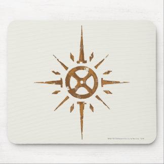 Escudo de Rohan Alfombrillas De Raton