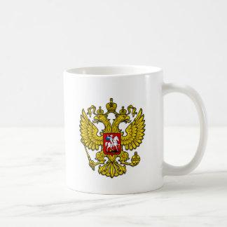 Escudo de Rusia Tazas