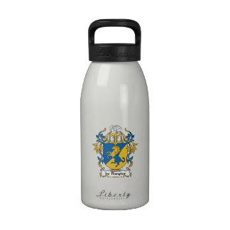 escudo de Ruyter Family Botella De Agua