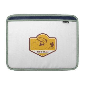 Escudo de salto del pescador de la mosca de la fundas MacBook