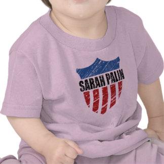 Escudo de Sarah Palin Camisetas