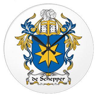 escudo de Schepper Family Reloj