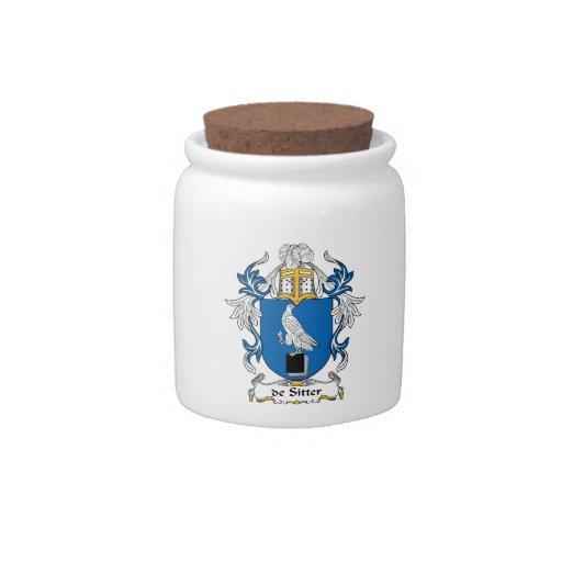 escudo de Sitter Family Plato Para Caramelo