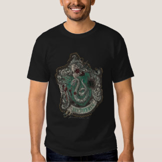 Escudo de Slytherin - destruido Polera