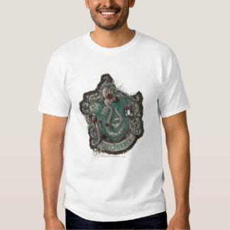 Escudo de Slytherin - destruido Remeras