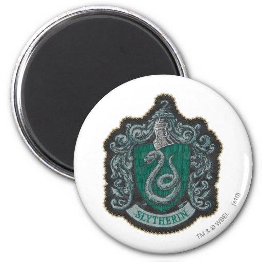 Escudo de Slytherin Imán Redondo 5 Cm