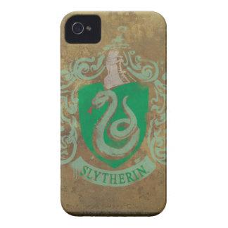 Escudo de Slytherin pintado iPhone 4 Carcasas