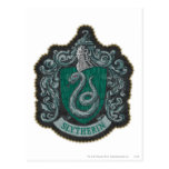Escudo de Slytherin Tarjetas Postales