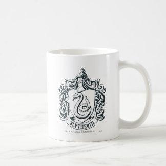 Escudo de Slytherin Taza