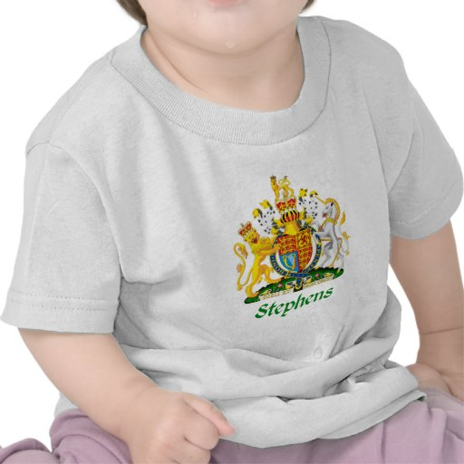 Escudo de Stephens de Gran Bretaña Camiseta