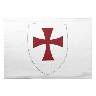 Escudo de Templar de los caballeros Mantel