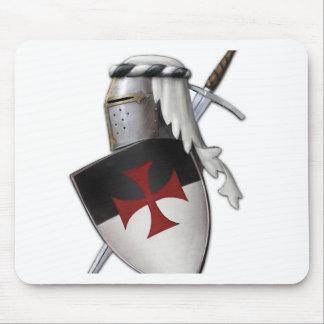 Escudo de Templar de los caballeros Tapetes De Ratones
