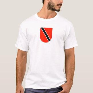 Escudo de Trinidad y de Trinidad y Tobago Playera