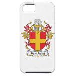 Escudo de Van Aelst Family iPhone 5 Case-Mate Protectores