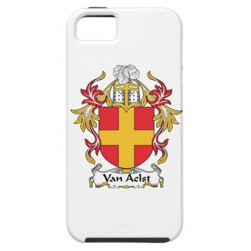 Escudo de Van Aelst Family Funda Para iPhone 5 Tough
