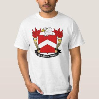 Escudo de Van Allen Family Camisas
