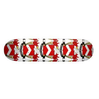 Escudo de Van Allen Family Skateboard