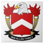 Escudo de Van Allen Family Teja Cerámica