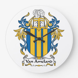 Escudo de Van Ameland Family Relojes
