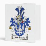Escudo de Van Beeck Family