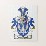 Escudo de Van Beeck Family Puzzle