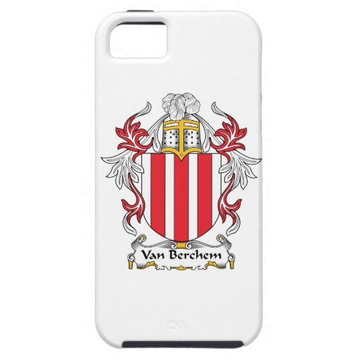 Escudo de Van Berchem Family iPhone 5 Carcasas