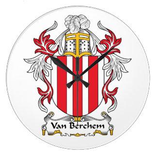 Escudo de Van Berchem Family Relojes