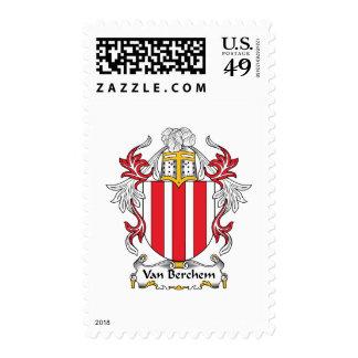 Escudo de Van Berchem Family Sello