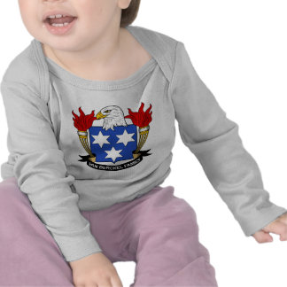 Escudo de Van Berckel Family Camiseta