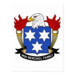 Escudo de Van Berckel Family Postal