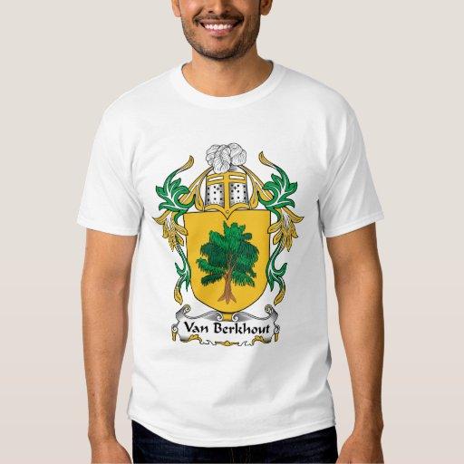 Escudo de Van Berkhout Family Camisas