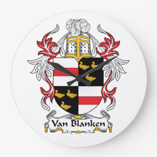 Escudo de Van Blanken Family Relojes