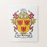 Escudo de Van Bommel Family Puzzle