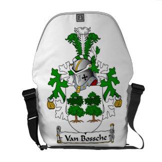 Escudo de Van Bossche Family Bolsa De Mensajería
