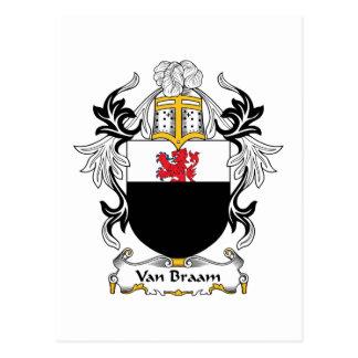 Escudo de Van Braam Family Postal