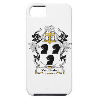 Escudo de Van Brakel Family iPhone 5 Cárcasas