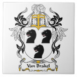 Escudo de Van Brakel Family Teja Cerámica