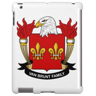 Escudo de Van Brunt Family Funda Para iPad
