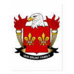 Escudo de Van Brunt Family Postal