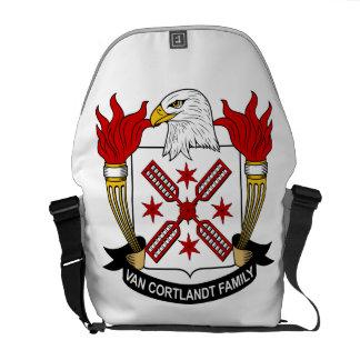 Escudo de Van Cortlandt Family Bolsa De Mensajería