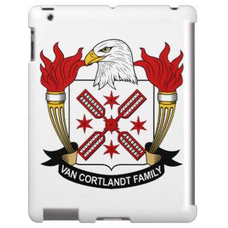 Escudo de Van Cortlandt Family Funda Para iPad