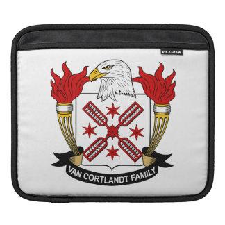 Escudo de Van Cortlandt Family Funda Para iPads