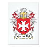 Escudo de Van der Hell Family Comunicado Personal