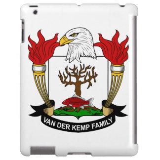 Escudo de Van der Kemp Family Funda Para iPad