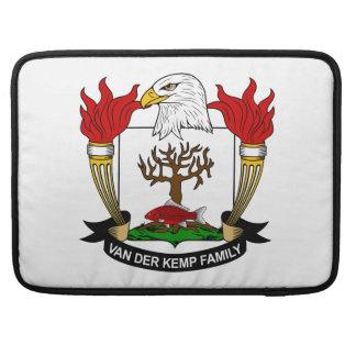 Escudo de Van der Kemp Family Fundas Para Macbook Pro