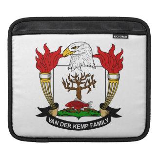 Escudo de Van der Kemp Family Mangas De iPad