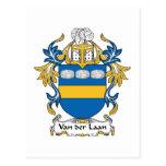 Escudo de Van der Laan Family Postal