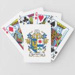 Escudo de Van der Ley Family Baraja Cartas De Poker