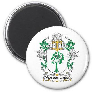 Escudo de Van der Linde Family Imán Redondo 5 Cm