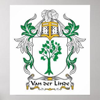 Escudo de Van der Linde Family Póster